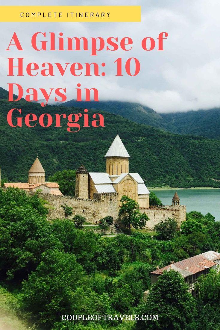 10 day Itinerary of Georgia: Narikala Fortress