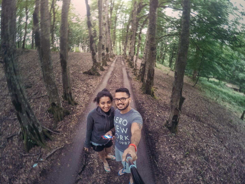 Enroute Okatse Canyon