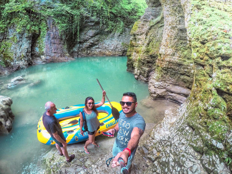 Martvili Canyon, Georgia