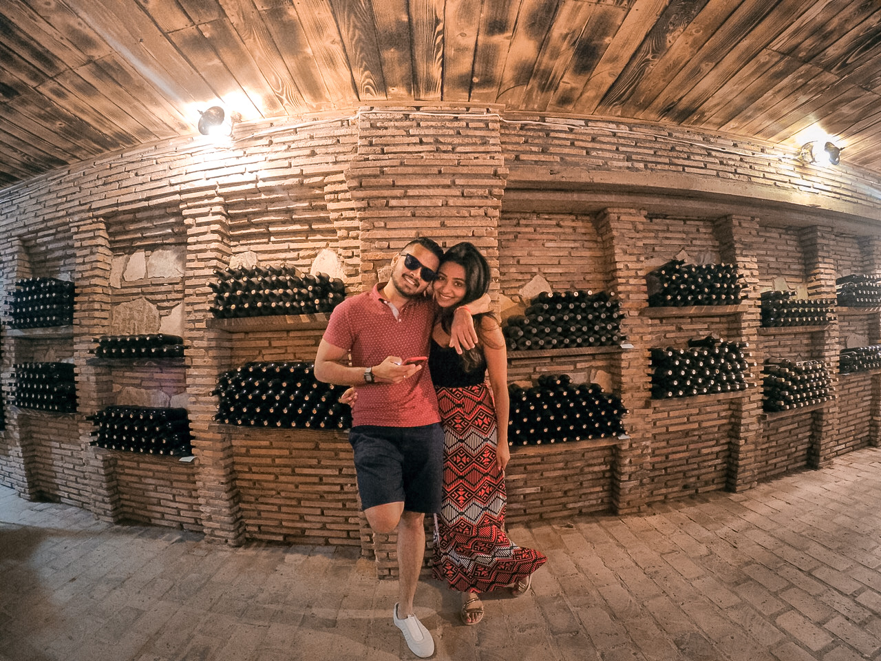 Hotel Twins Wine Cellar in Kakheti, Georgia