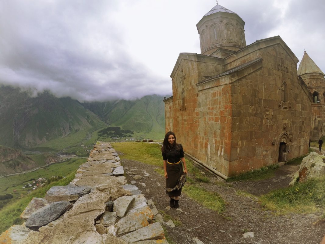 10 day Itinerary of Georgia: Gergeti Trinity Church