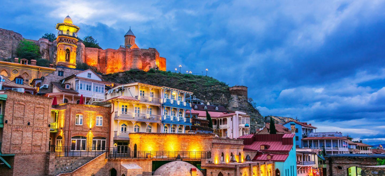 Tbilisi At Night