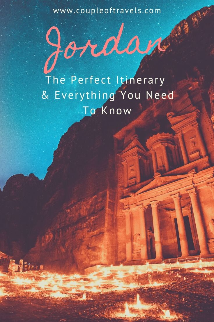 Visit Jordan: Article cover photo of Petra by night