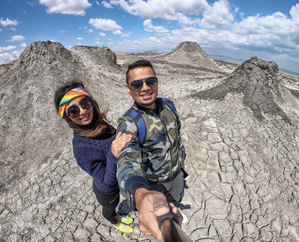 Mud Volcanoes in Gobustan, Azerbaijan
