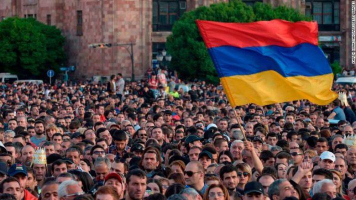 Protests in 2018 in Armenia