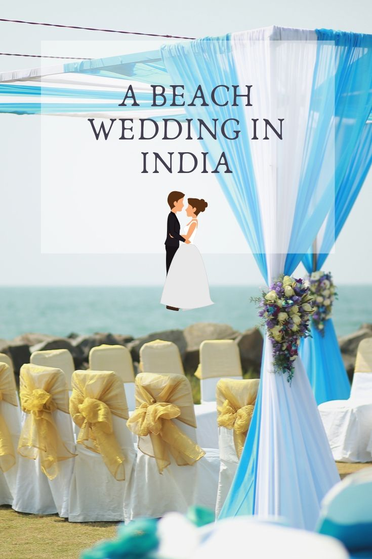 Couple of travels-a beach wedding in India