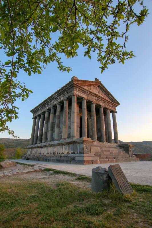 Garni- A Greek Temple In Armenia