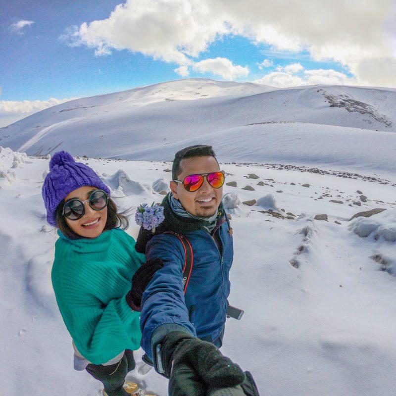 Mt Aragat in Armenia