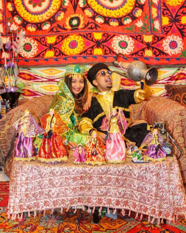 Traditional Azeri wear