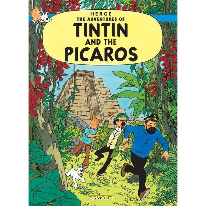 Tintin and the Picaros comic book cover