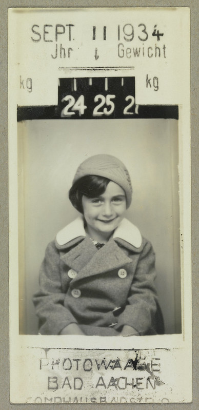 A young Anne Frank
