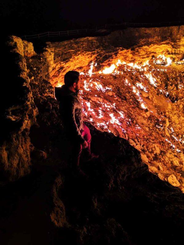 The burning crater- Darvaza