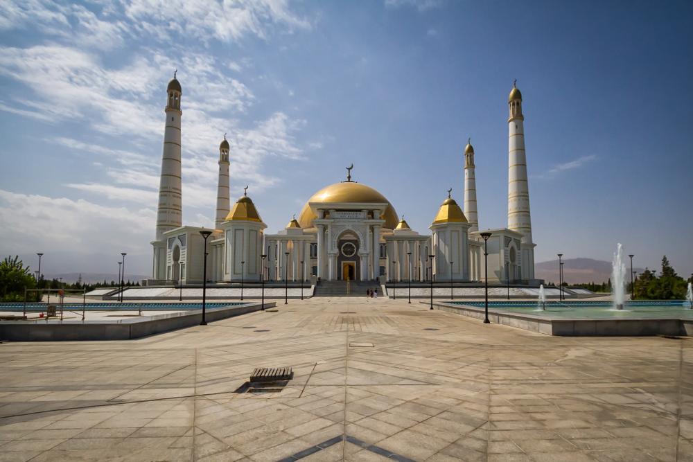 Türkmenbaşy Ruhy Mosque, Ashgabat