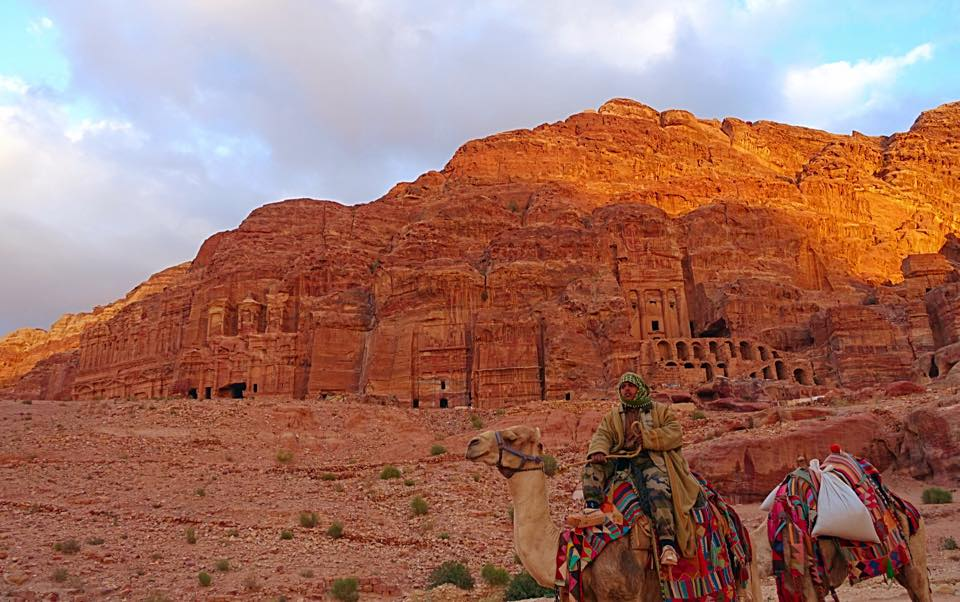 The royal tombs in Petra