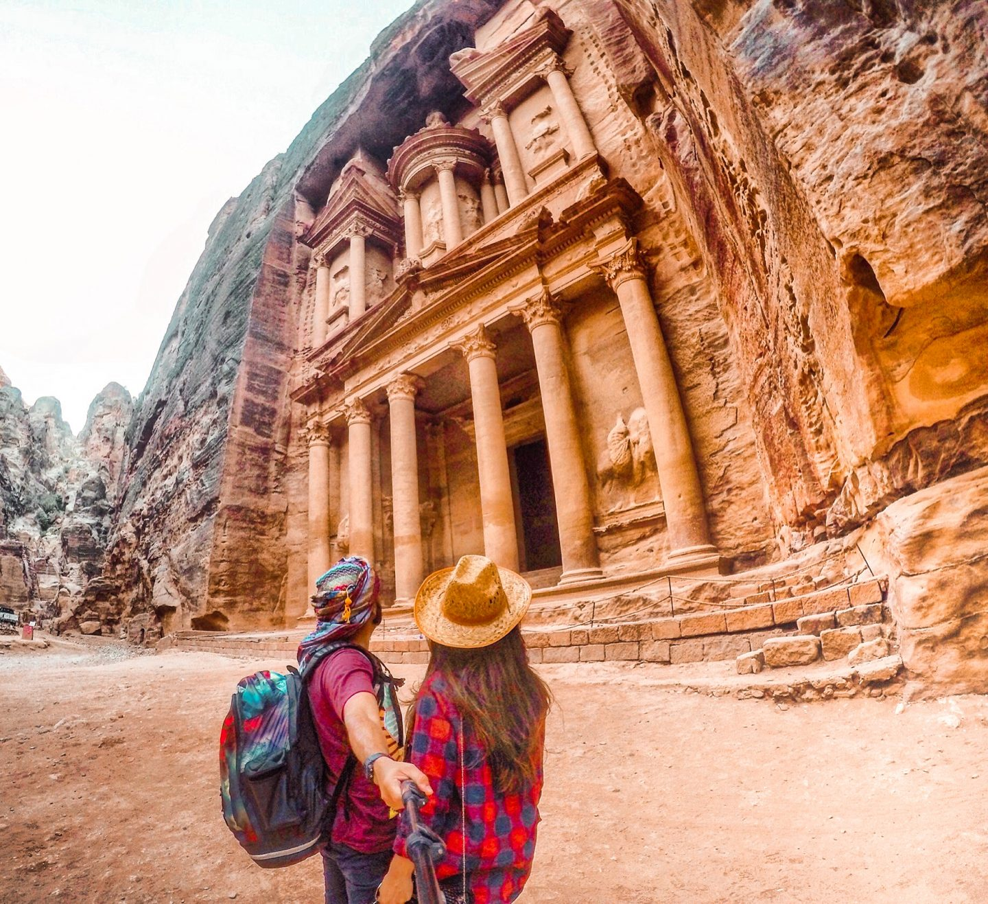 The main monument in Petra is called 'The Treasury'
