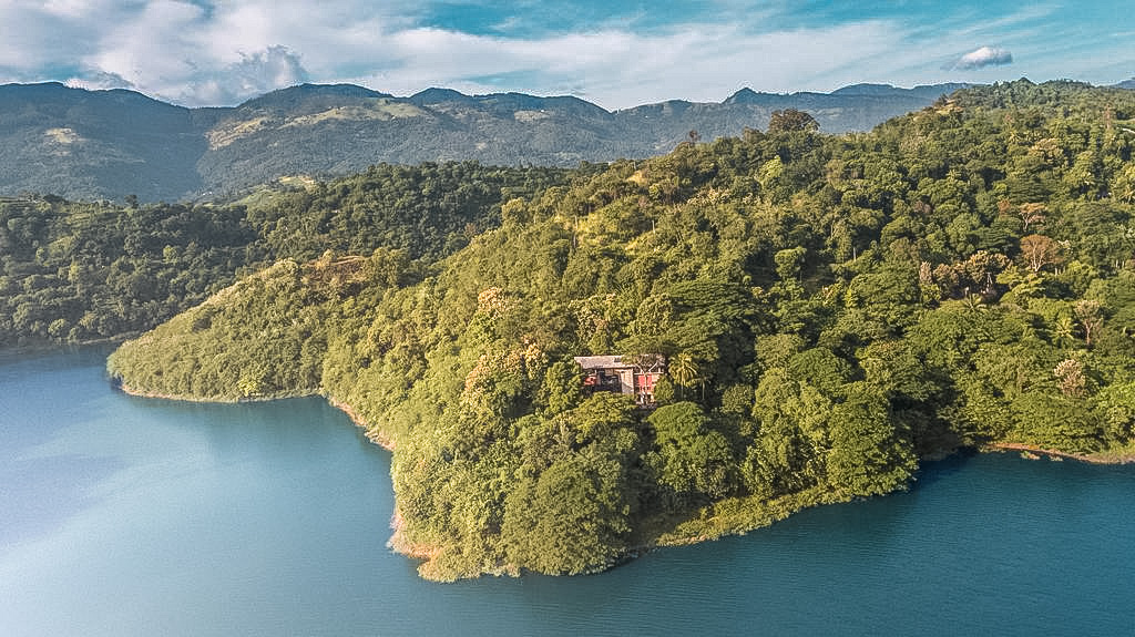 Aerial Shot Of The Hermitage Kandy