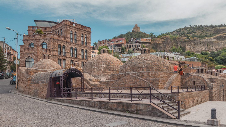 Abanotubani-The sulphur bath district of Georgia