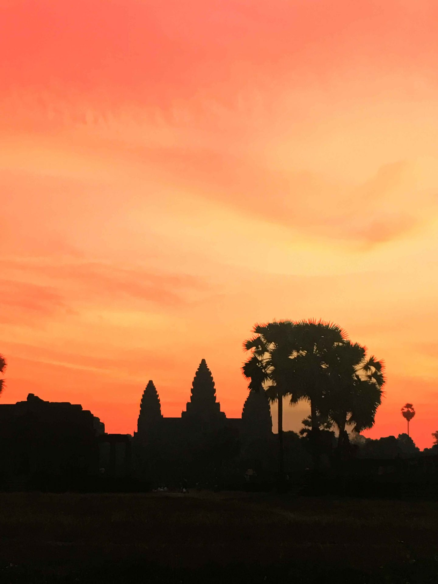 The magical skies of Angkor