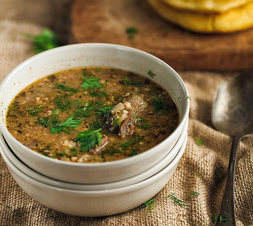 Georgian winter soup