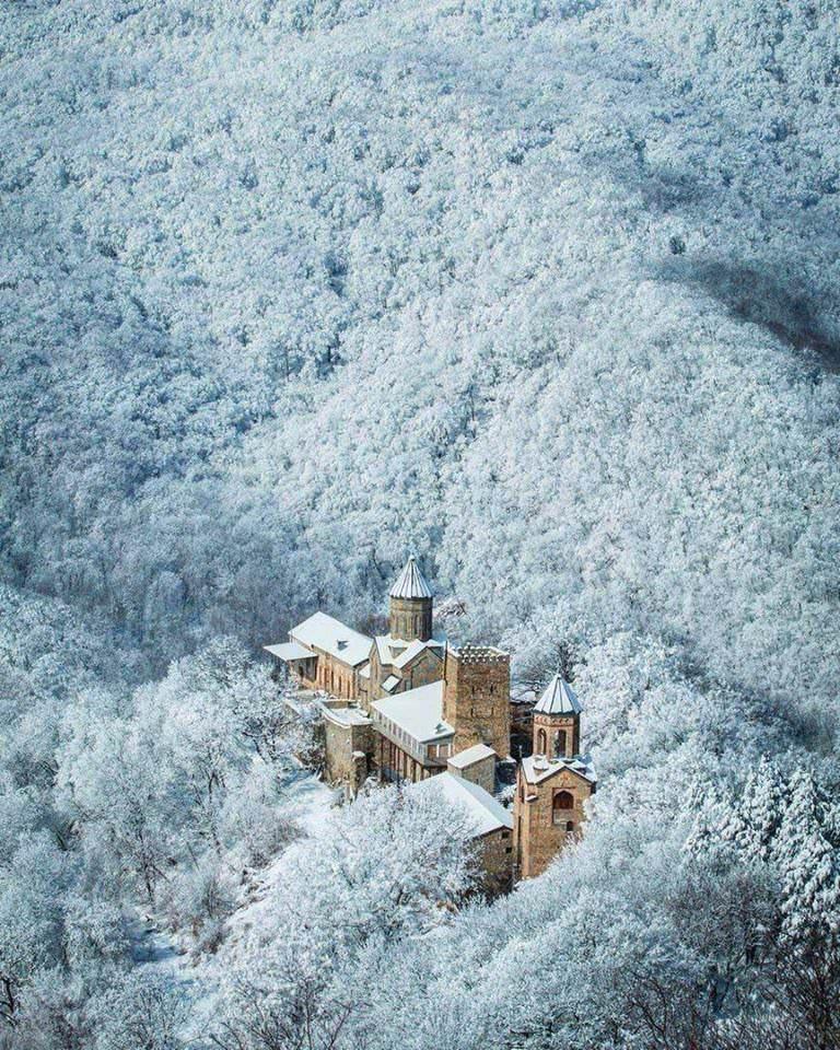 Martkopi Monastery in Georgia