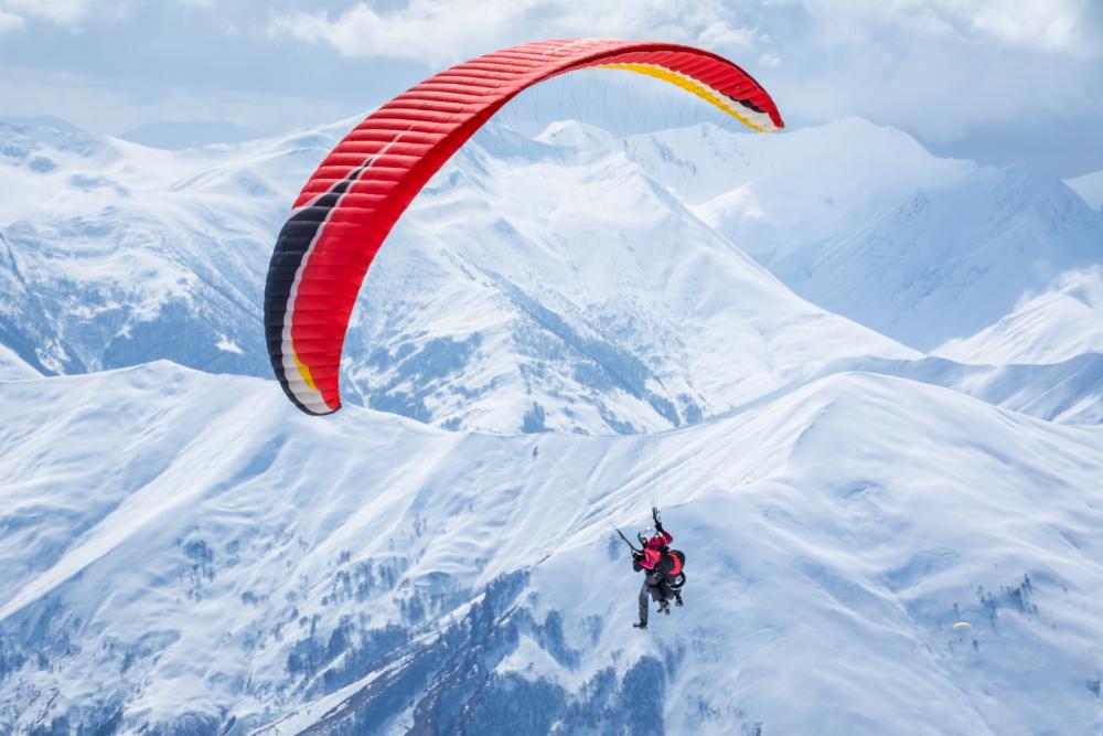 Tandem Paragliding In Georgia
