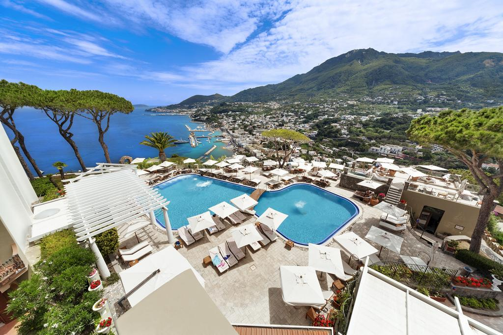 View from San Montano Resort & Spa in Ischia Italy