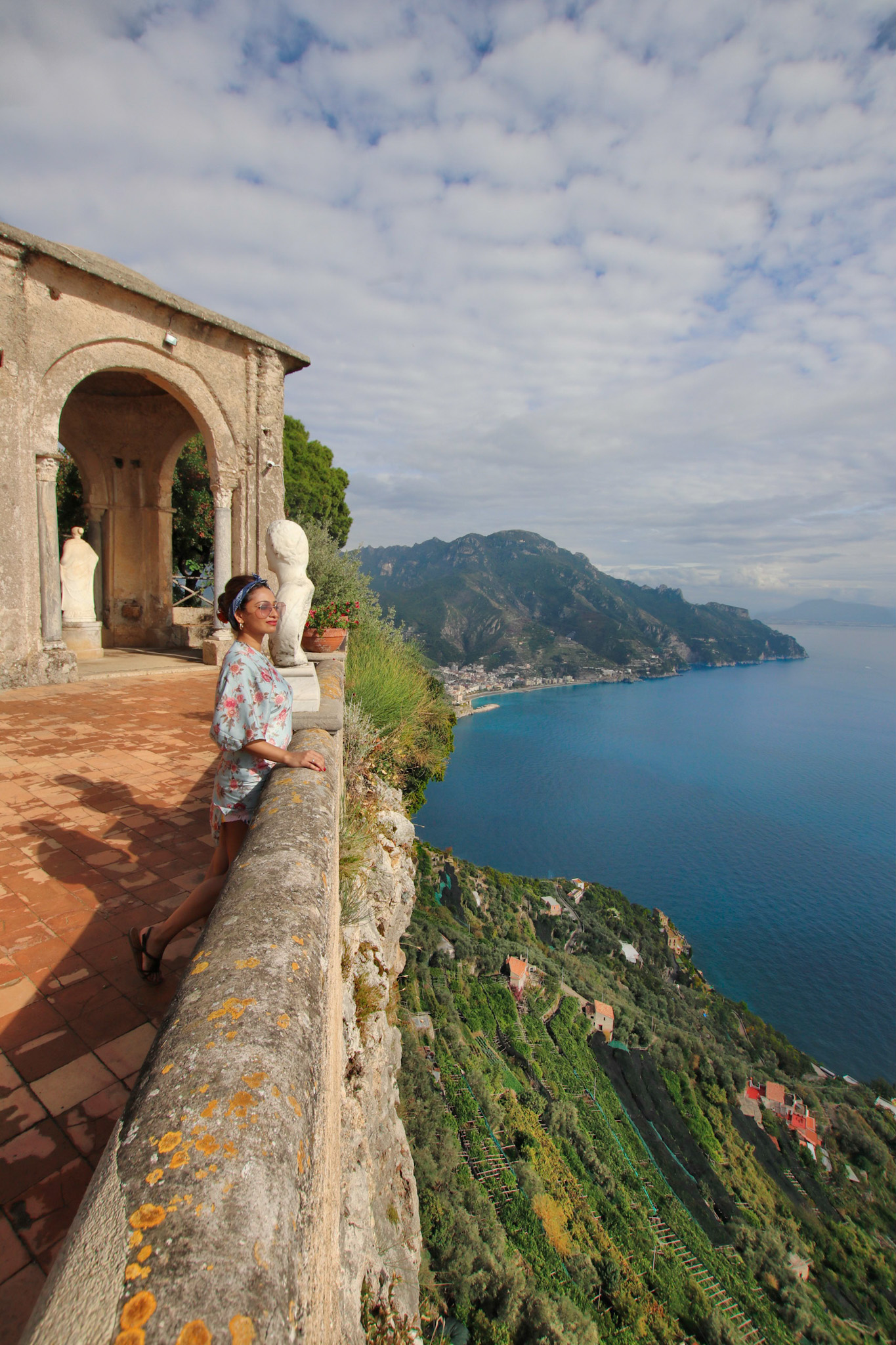 At the Terrace Of Infinity-Ravello Italy