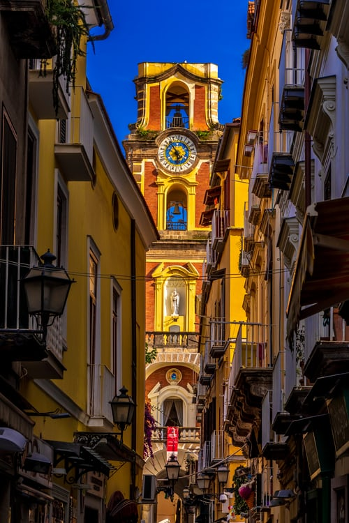 Alleyways in Sorrento Italy