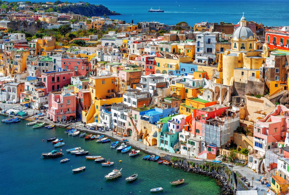 The colorful Italian island of Procida
