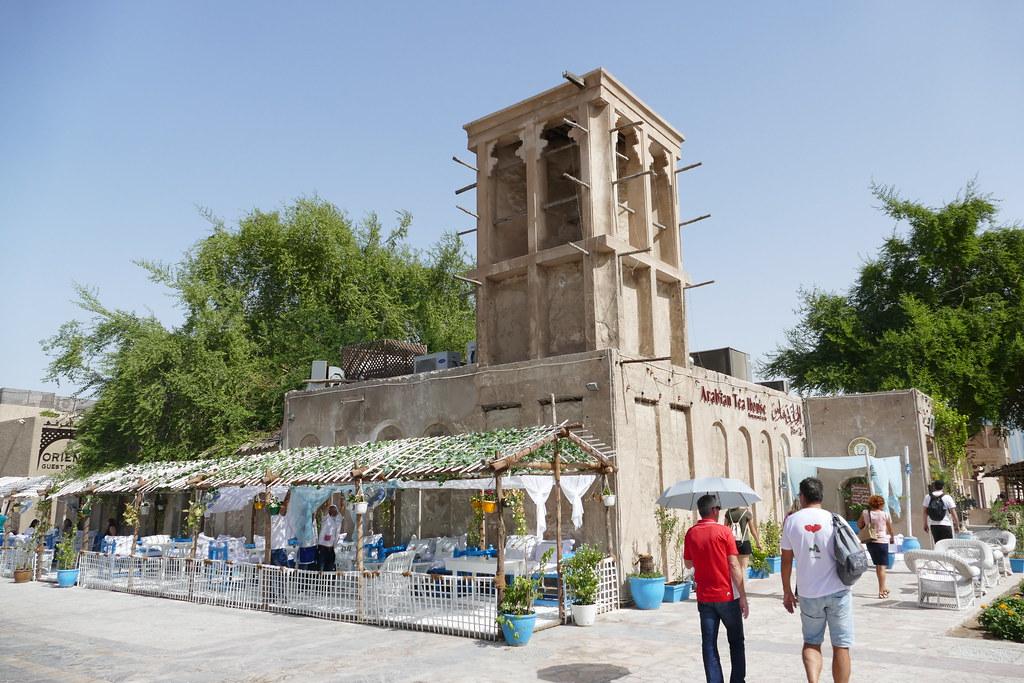Al Bastakiya Quarter in Dubai